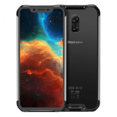 """Blackview BV9600 Pro IP68 Waterproof Rugged Mobile Phone Helio P60 6GB+128GB 6.21"""" 19:9 AMOLED 5580mAh Android 9.0 Rugged Smartphone"""